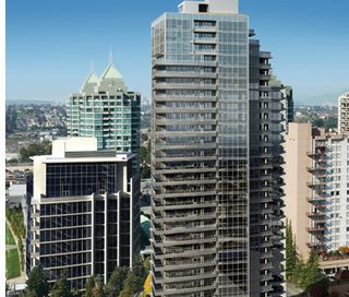 Photo 1: The Motif 805-4400 Buchannon st in Burnaby: Condo for sale (Burnaby North)