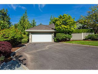 "Photo 1: 18 4001 OLD CLAYBURN Road in Abbotsford: Abbotsford East Townhouse for sale in ""Cedar Springs"" : MLS®# R2469026"