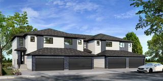 Photo 1: 5555 SCHONSEE Drive NW in Edmonton: Zone 28 Attached Home for sale : MLS®# E4205208