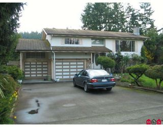 Photo 1: 2676 127TH Street in White_Rock: Crescent Bch Ocean Pk. House for sale (South Surrey White Rock)  : MLS®# F2808888