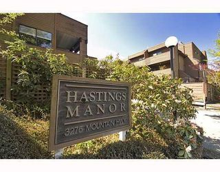 Photo 1: # 103 3275 MOUNTAIN HY: Condo for sale : MLS®# V763634