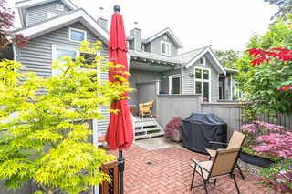"Photo 1: 1585 BOWSER Avenue in North Vancouver: Norgate Townhouse for sale in ""Illahee"" : MLS®# R2465696"