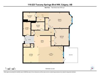 Photo 24: 110 223 Tuscany Springs Boulevard NW in Calgary: Tuscany Apartment for sale : MLS®# A1038824