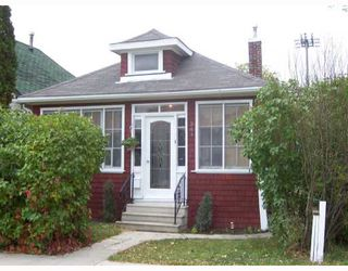 Photo 1: 341 KING EDWARD Street in WINNIPEG: St James Single Family Detached for sale (West Winnipeg)  : MLS®# 2716664