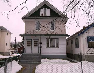 Photo 1: 445 CHURCH Avenue in WINNIPEG: North End Residential for sale (North West Winnipeg)  : MLS®# 2804069