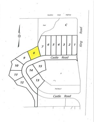 "Main Photo: LOT 8 CASTLE Road in Gibsons: Gibsons & Area Land for sale in ""KING & CASTLE"" (Sunshine Coast)  : MLS®# R2422407"