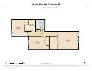 Photo 29: 14 1904 48 Street in Edmonton: Zone 29 Townhouse for sale : MLS®# E4196676