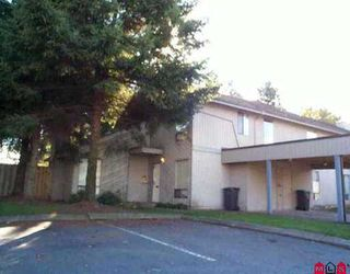 """Main Photo: 6 3030 TRETHEWEY ST in Abbotsford: Abbotsford West Townhouse for sale in """"Clearbrook Village"""" : MLS®# F2522526"""
