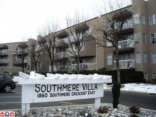 "Photo 1: # 309 1860 E SOUTHMERE CR in Surrey: Sunnyside Park Surrey Condo for sale in ""Southmere Villa"" (South Surrey White Rock)  : MLS®# F1100590"