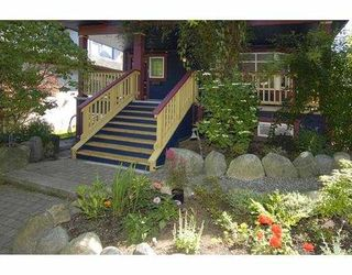 Photo 1: 2 2540 MANITOBA Street in Vancouver: Mount Pleasant VW House 1/2 Duplex for sale (Vancouver West)  : MLS®# V657129