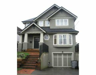 Main Photo: 4487 JOHN Street in Vancouver: Main House for sale (Vancouver East)  : MLS®# V633216