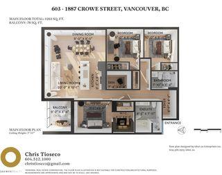 """Photo 32: 603 1887 CROWE Street in Vancouver: False Creek Condo for sale in """"Pinnacle Living False Creek"""" (Vancouver West)  : MLS®# R2465778"""