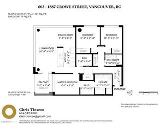 """Photo 31: 603 1887 CROWE Street in Vancouver: False Creek Condo for sale in """"Pinnacle Living False Creek"""" (Vancouver West)  : MLS®# R2465778"""