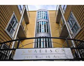 "Photo 1: 409-2929 West 4th Avenue in Vancouver: Kitsilano Condo for sale in ""The Madison"" (Vancouver West)  : MLS®# V806678"