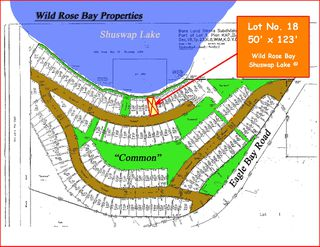 Photo 39: Lot #18 6421 Eagle Bay Road in Eagle Bay: Waterfront Land Only for sale (Wild Rose Bay)  : MLS®# 10024865