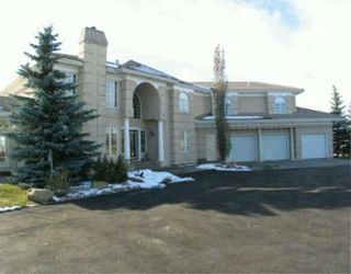 Photo 1:  in CALGARY: Rural Rocky View MD Residential Detached Single Family for sale : MLS®# C3162373