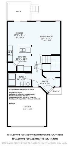 Photo 24: 212 BROOKVIEW Way: Stony Plain House Half Duplex for sale : MLS®# E4168322