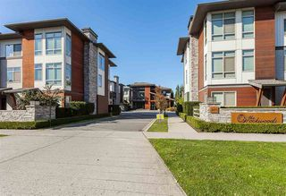 "Main Photo: 63 8473 163 Street in Surrey: Fleetwood Tynehead Townhouse for sale in ""Rockwoods"" : MLS®# R2412521"