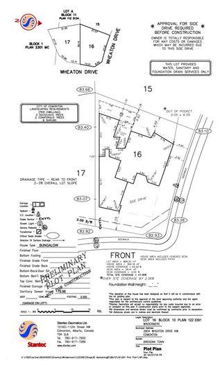 Photo 11: 2804 WHEATON Drive in Edmonton: Zone 56 Vacant Lot for sale : MLS®# E4207363