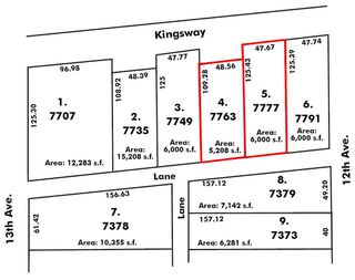 Main Photo: 7777 KINGSWAY in Burnaby: Edmonds BE Land Commercial for sale (Burnaby East)  : MLS®# C8035675