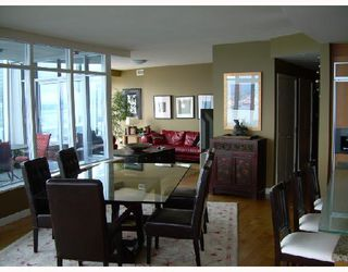"""Photo 6: 3302 1281 W CORDOVA Street in Vancouver: Coal Harbour Condo for sale in """"CALLISTO AT HARBOUR GREEN"""" (Vancouver West)  : MLS®# V706458"""