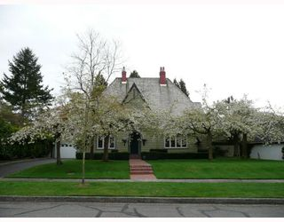 Photo 1: 1636 AVONDALE Avenue in Vancouver: Shaughnessy House for sale (Vancouver West)  : MLS®# V711526