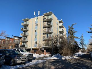 Main Photo: 410 2512 1 Avenue NW in Calgary: West Hillhurst Apartment for sale : MLS®# A1061030