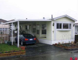 "Photo 1: 69 8254 134 ST in Surrey: Queen Mary Park Surrey Manufactured Home for sale in ""WESTWOOD ESTATES"" : MLS®# F2504754"