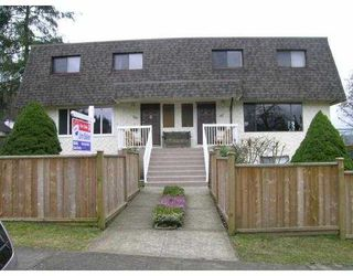 Main Photo: 145 GRANT Street in Port_Moody: Port Moody Centre House Duplex for sale (Port Moody)  : MLS®# V693024