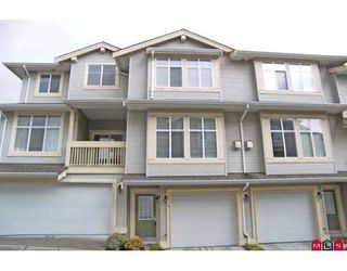 "Photo 1: 12 14959 58TH Avenue in Surrey: Sullivan Station Townhouse for sale in ""Skylands"" : MLS®# F2808903"