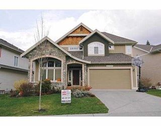 "Photo 1: 24189 MCCLURE Drive in Maple Ridge: Albion House for sale in ""MAPLE CREST"" : MLS®# V633956"