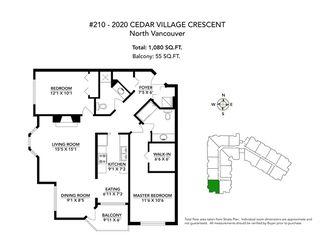 Photo 13: 210 2020 CEDAR VILLAGE Crescent in North Vancouver: Westlynn Condo for sale : MLS®# R2482683