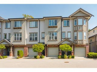 """Photo 1: 27 14838 61 Avenue in Surrey: Sullivan Station Townhouse for sale in """"Sequoia"""" : MLS®# R2494973"""