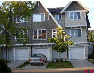 "Photo 1: 77 15871 85TH Avenue in Surrey: Fleetwood Tynehead Townhouse for sale in ""Huckleberry"" : MLS®# F2716364"
