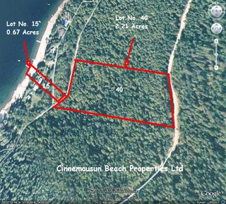 Main Photo: Lot #40; 6741 Eagle Bay Road in Eagle Bay: Semi-Waterfront Vacant Land for sale : MLS®# 10079805