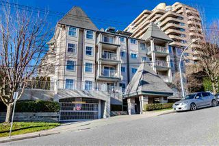 "Photo 1: 209 1035 AUCKLAND Street in New Westminster: Uptown NW Condo for sale in ""QUEEN'S TERRACE"" : MLS®# R2438580"