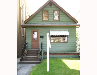 Photo 2: 320 HOME Street in WINNIPEG: West End / Wolseley Single Family Detached for sale (West Winnipeg)  : MLS®# 2712304