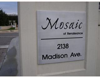 "Photo 2: 604 2138 MADISON Avenue in Burnaby: Central BN Condo for sale in ""MOSAIC/RENAISSANCE"" (Burnaby North)  : MLS®# V682737"