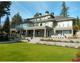 Photo 2: Ocean Front Estate Home - 12990 13TH AV in White Rock: House for sale : MLS®# Ocean Front Estate Home