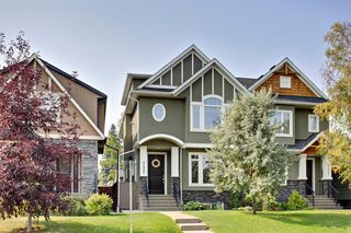 Main Photo: 2425 22A Street NW in Calgary: Banff Trail Semi Detached for sale : MLS®# C4306354
