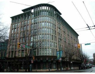 """Photo 1: 407 1 E CORDOVA Street in Vancouver: Downtown VE Condo for sale in """"CARRALL STREET STATION"""" (Vancouver East)  : MLS®# V689852"""
