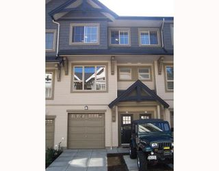 "Photo 1: 25 1362 PURCELL Drive in Coquitlam: Westwood Plateau Townhouse for sale in ""WHITETAIL LAND"" : MLS®# V697297"