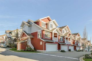 "Photo 1: 51 6785 193 Street in Surrey: Clayton Townhouse for sale in ""MADRONA"" (Cloverdale)  : MLS®# R2424766"