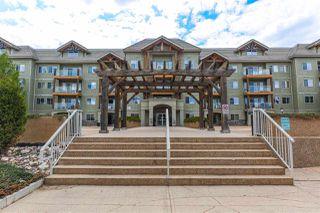 Photo 2: 408 278 SUDER GREENS Drive in Edmonton: Zone 58 Condo for sale : MLS®# E4186815