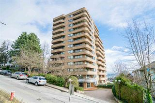 "Photo 1: 603 1026 QUEENS Avenue in New Westminster: Uptown NW Condo for sale in ""Amara Terrace"" : MLS®# R2435801"