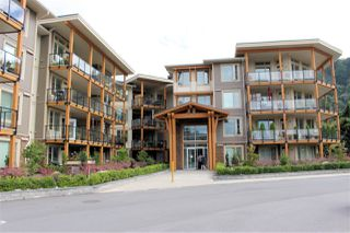 "Photo 1: 306 45746 KEITH WILSON Road in Chilliwack: Vedder S Watson-Promontory Condo for sale in ""ENGLEWOOD COURTYARD"" (Sardis)  : MLS®# R2528085"