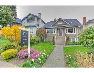 Photo 1: 3691 W 38TH AV in Vancouver: House for sale : MLS®# V914731