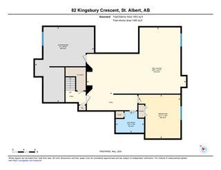 Photo 39: 82 KINGSBURY Crescent: St. Albert House for sale : MLS®# E4197642