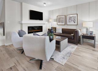 Photo 5: 7164 Edgemont Way in Edmonton: Zone 57 House Half Duplex for sale : MLS®# E4217372