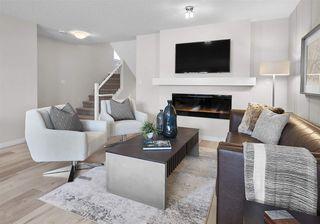 Photo 4: 7164 Edgemont Way in Edmonton: Zone 57 House Half Duplex for sale : MLS®# E4217372